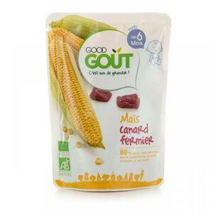 GGO 27371 Good Gout BIO Kukurica s kačacím mäsom 190 g - kratšia expiračná doba