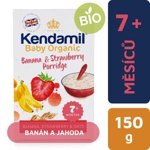 KEN 77000069 Kendamil Organická / BIO banánová, jahodová kaša - kratšia expiračná doba