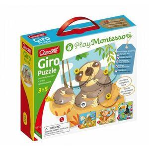 Quercetti Giro Puzzle spinning puzzle - otáčavá skladačka