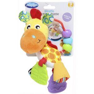 Playgro - Závesná žirafa s hryzátkami