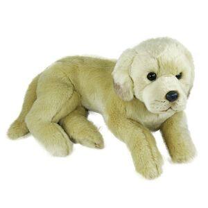 Plyšový pes Labrador 38cm, ležiace