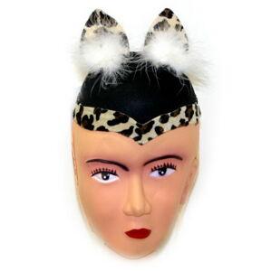 Rappa Klobúk mačka s perím - filc