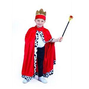 RAPPA Detský kostým kráľovský plášť