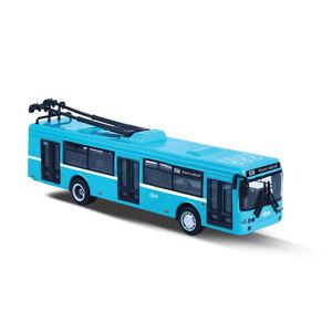 Rappa Kovový trolejbus DPO Ostrava modrý, 16 cm