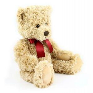 Plyšový medvěd retro sedící, 28 cm, ECO-FRIENDLY