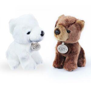 plyšový medvěd 2 druhy, 18 cm