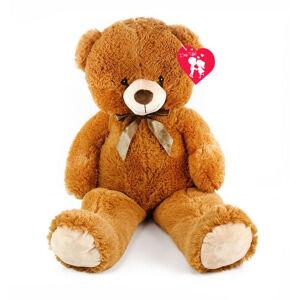 velký plyšový medvěd Oskar s visačkou, 90 cm