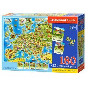 SMT Puzzle mapa Evropy