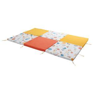 Tineo Cestovní matrace a podložky 5v1 žluto oranžová