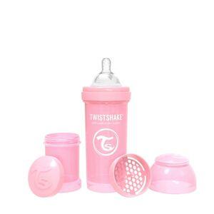 Twistshake Kojenecká láhev Anti-Colic 260ml (dudl.M) Pastelově růžová