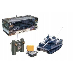 Teddies tank RC Tiger na baterie + dobíjecí pack