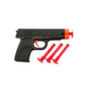 Teddies Pištoľ na prísavky plast 14cm na karte 13x22x2cm