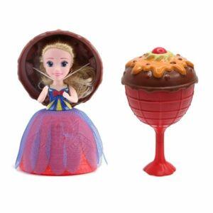 Teddies Bábika Gelato Cupcake - zmrzlinový pohár plast 16cm voňajúce, viac druhov