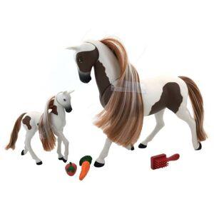 Wiky Kôň s žriebätkom 18 cm, viac druhov
